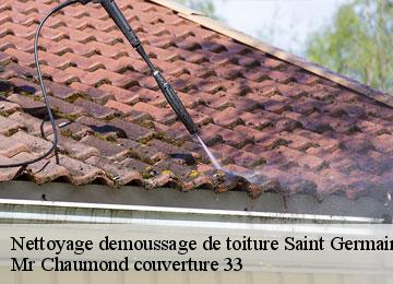 Nettoyage et démoussage toiture à Saint Germain De La Riviere tél : 05.33.06.18.10